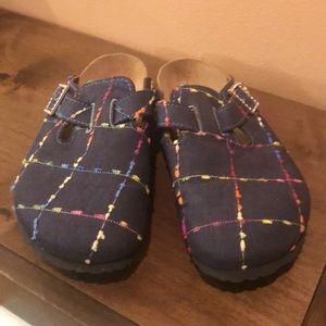 Papillon denim shoes by Birkenstock